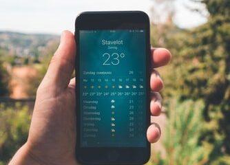 美國智慧氣象科技公司利用人工智慧,讓每支手機都成了氣象觀測站!